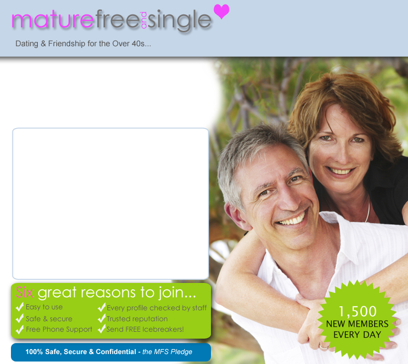 frde senior personals Senior dating at seniormatchcom the largest and most effective senior dating site for baby boomers and seniors seniormatch focuses on users over 50 years of age, and does not allow members under the age of 30 by doing so, we maintain a consistent age range dedicated specifically to mature members interested in meeting others online.